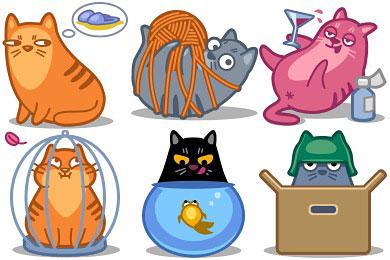 Перейти на Meow Icons