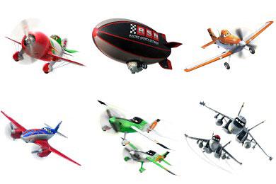 Перейти на Disney Planes 2013 Icons