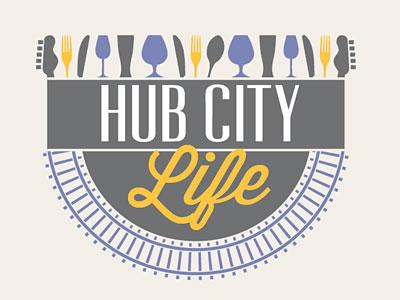 Hub City Life logo