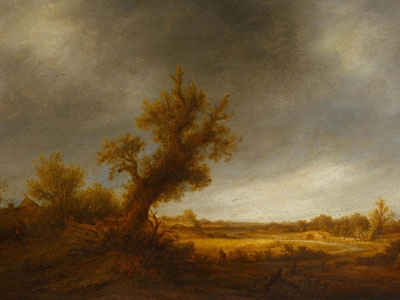 Перейти на Landscape With An Old Oak