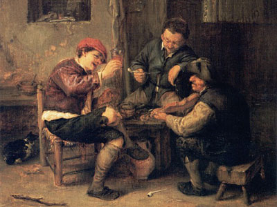 Перейти на Three Peasants At An Inn