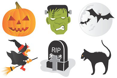 Перейти на Halloween Icons By Csscreme