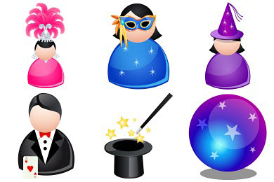 Перейти на Magic People Icons By Dapino