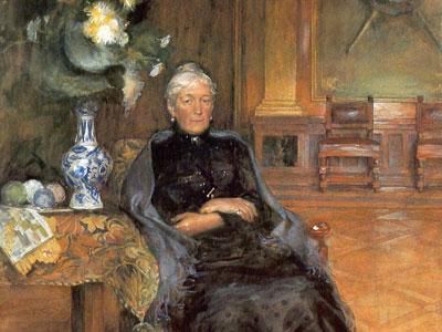 Перейти на Portrait Of Gothilda Furstenberg