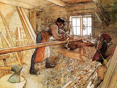 Перейти на In The Carpenter Shop