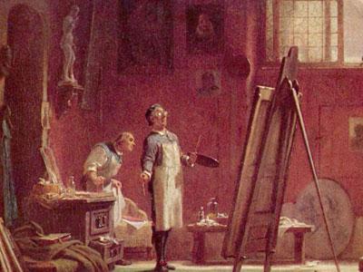 Перейти на The Portrait Painter