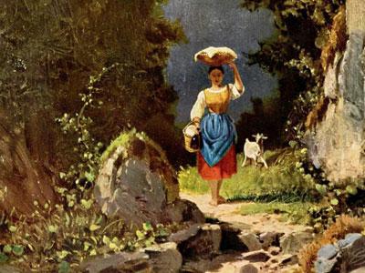 Перейти на Girl With Goat