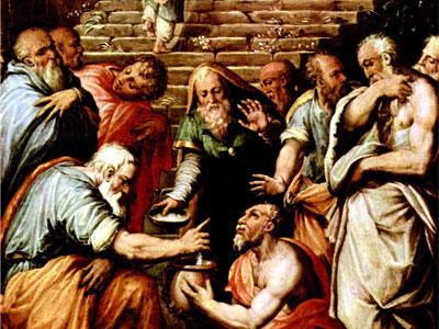 Перейти на The Prophet Elisha Cleansing Naaman