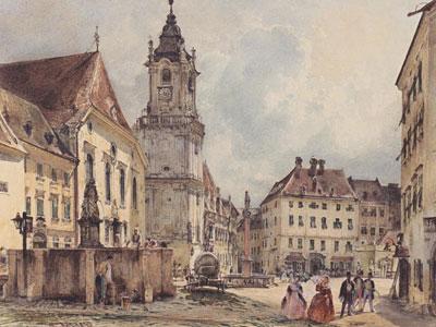 Перейти на The Main Square In Bratislava