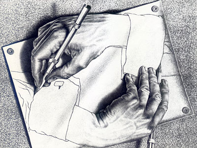 Перейти на Drawing Hands