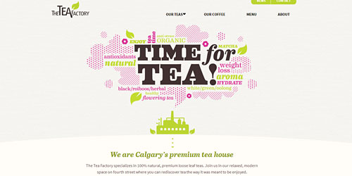 Перейти на The Tea Factory