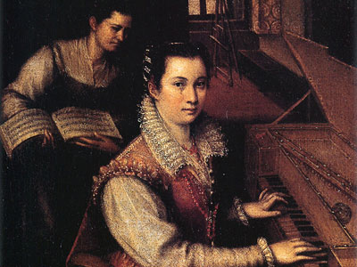 Перейти на Self Portrait At The Clavichord With A Servant