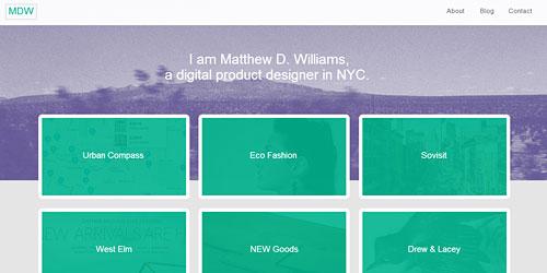 Перейти на Matthew D Williams