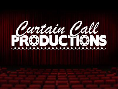 Перейти на Curtain Call Productions Logo