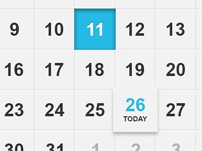 Перейти на Calendar UI