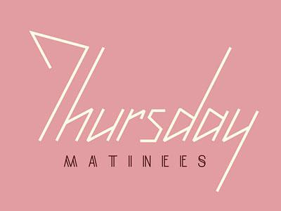 Thursday Matinees logo