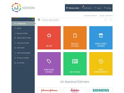 VIZMON Dashboard UI
