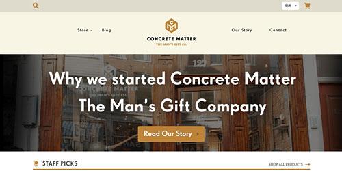 Перейти на concrete-matter.com
