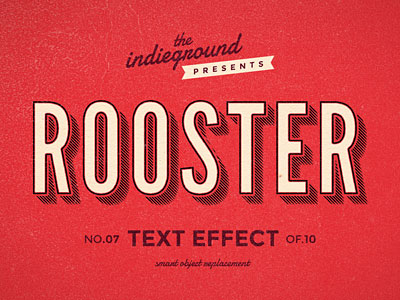 Retro Vintage Text Effect