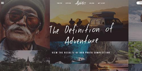 Перейти на adventure.com