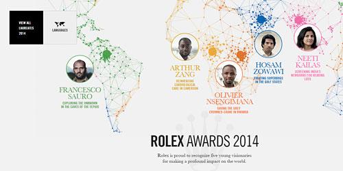 Перейти на magazine.rolexawards.com